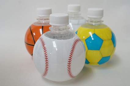 販促品として活用!小ロットのオリジナルペットボトル「ボール柄ペットボトル」の活用アイディア