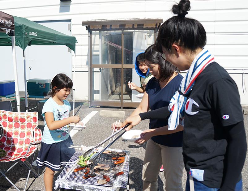 夏休みBBQ大会開催