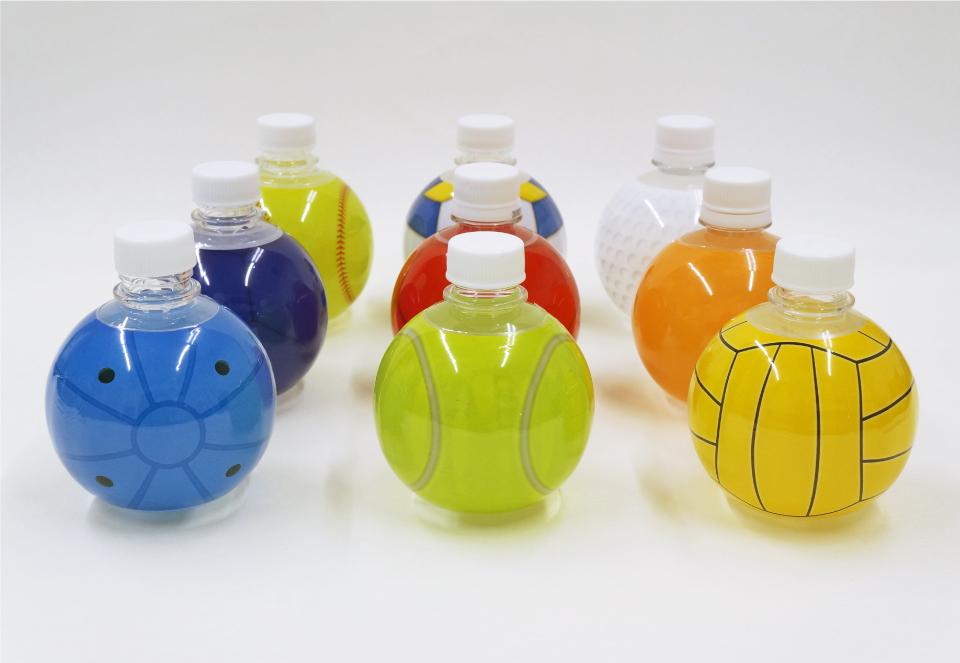 ボール型オリジナルペットボトル