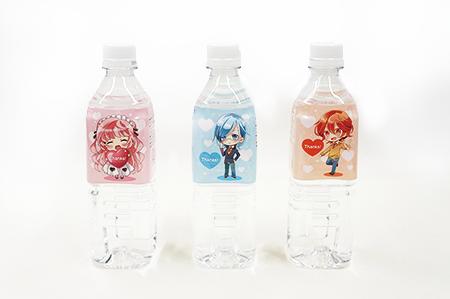 キャラクターペットボトル